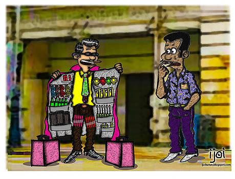 The Selling Man by Faizulniza Mazly Zulkifli
