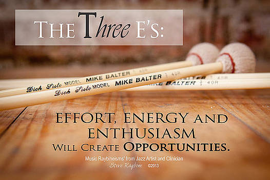 The Three E's by Steve  Raybine