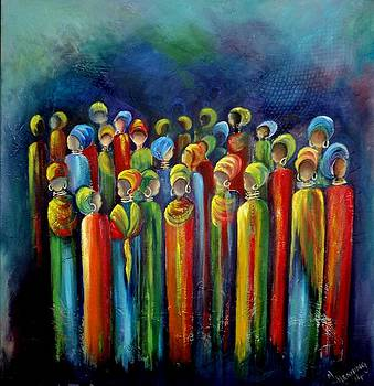 The Women's March by Marietjie Henning