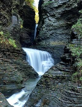 Three Falls in Watkins Glen by Joshua House
