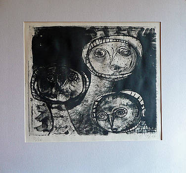 Three Figures by Federico Avila