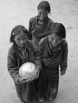 Three Friends by Karma Gurung