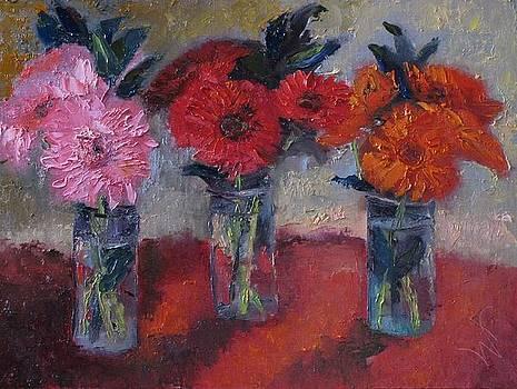 Three Glasses Full by Wendie Thompson