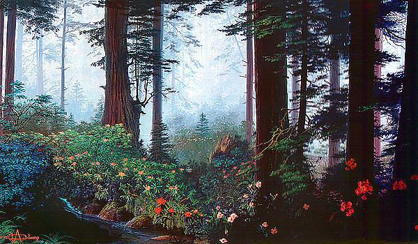 Thy Dwelling Place - Psalms 87 - homage to the Brahms German Requiem  by Loren Adams