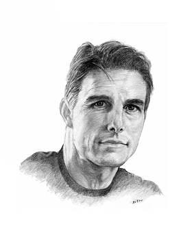 Tom Cruise2 by Lou Ortiz