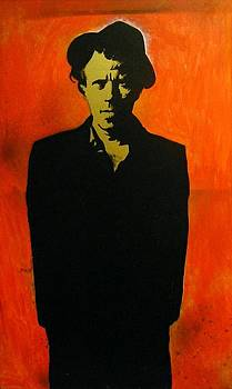 Tom Waits by Sam Dominguez