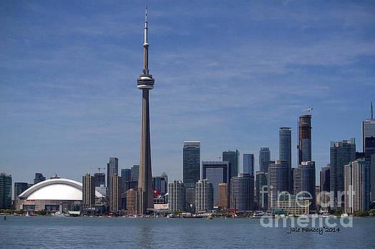 Toronto Skyline by Jale Fancey