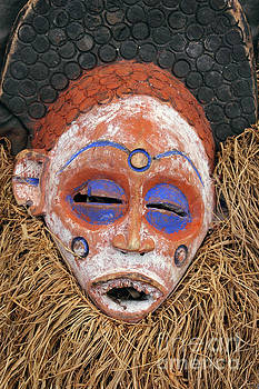 Traditional African Mask by Kiril Stanchev