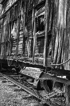 Train Car of Days Gone by Debra K Roberts