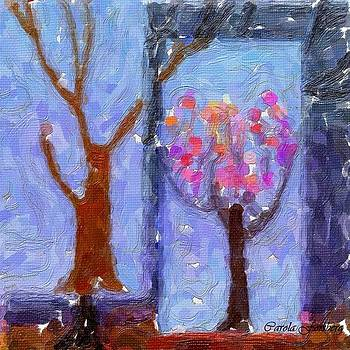 Tree Abstractum by Carola Ann-Margret Forsberg