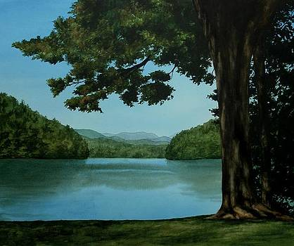 Tree By The Lake by Penny Johnson