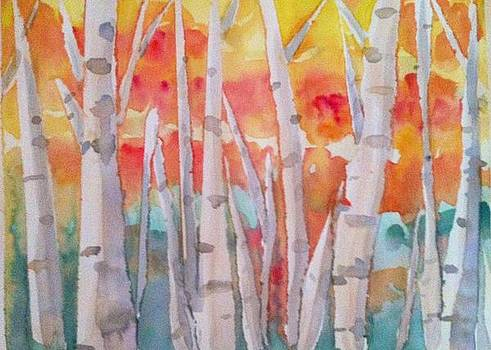 Trees of fall by Tiffany Albright