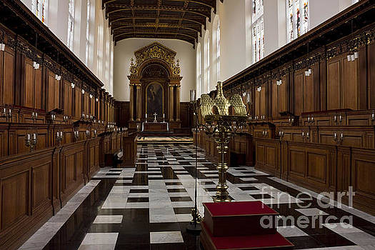 Trinity College Chapel in Cambridge by Kiril Stanchev