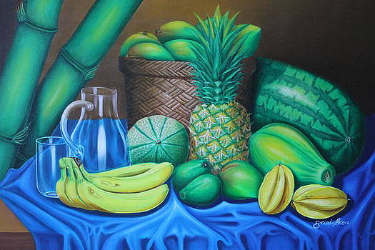 Tropical Fruits by Gani Banacia