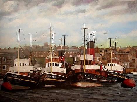 Tugs on the Tyne by Harold Hopkinson