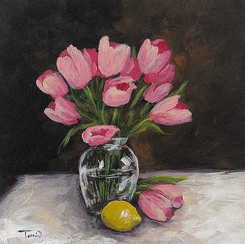 Tulips and Lemon by Torrie Smiley