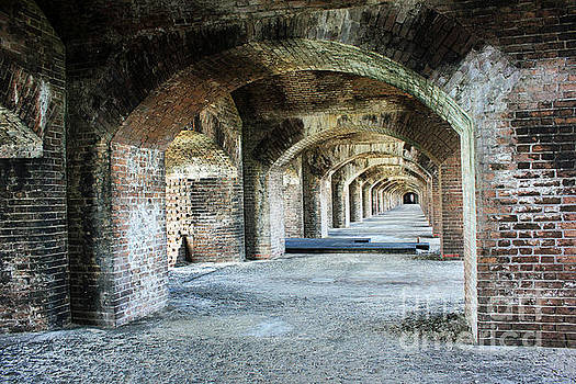 Tunnels of Fort Jefferson by Alison Tomich