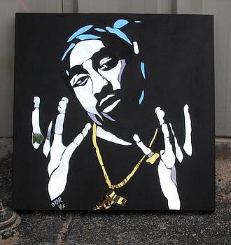 Tupac Shakur by Tom Runkle