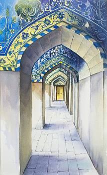 Turquoise illumination by Ida Yavari