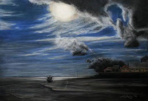 Twilight Beach by Rachael Curry