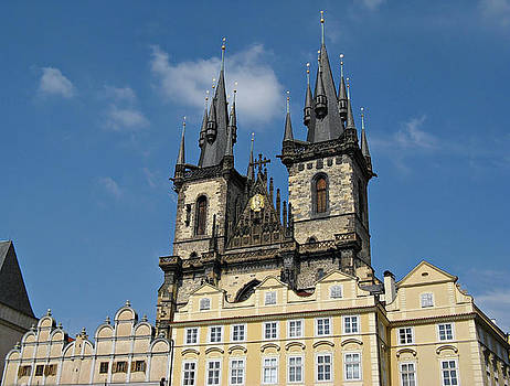 Tyn Church Prague by Kiril Stanchev