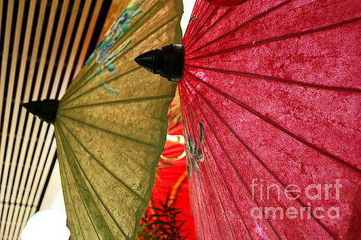 Umbrellas 2 by Valerie Beasley