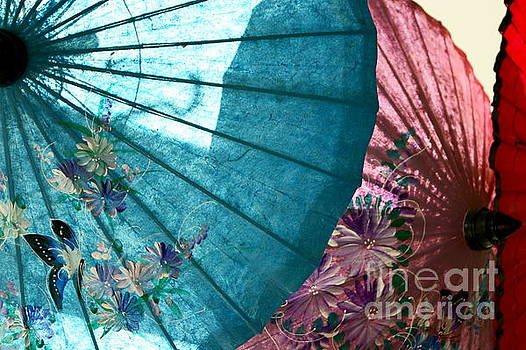 Umbrellas by Valerie Beasley