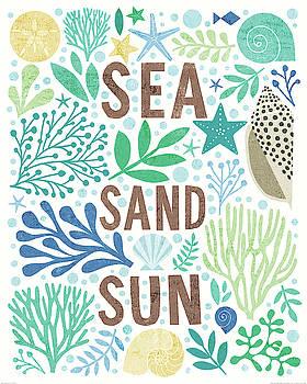 Under Sea Treasures Iii Sea Glass by Michael Mullan