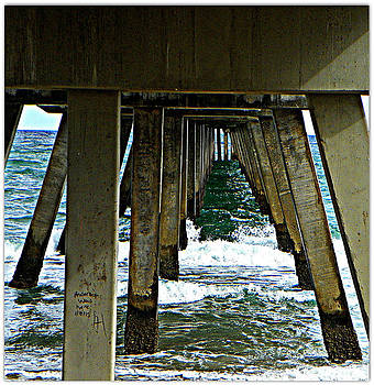 Under The Boardwalk  by Dianne  Lacourciere