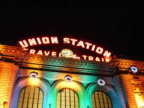 Union Station Denver CO. by Julie Federico