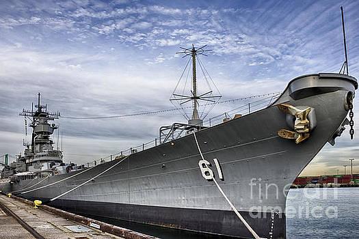 USS Iowa by David Doucot
