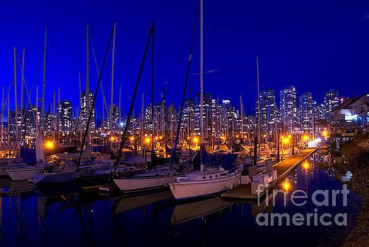 Vancouver Marina by Andrew Dobrzanski