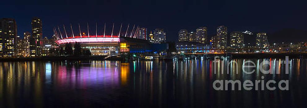 Vancouver Skyline by Andrew Dobrzanski