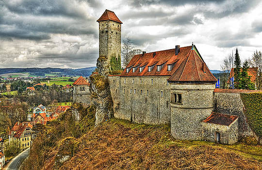 Veldenstein Castle Bavaria Germany by David Davies