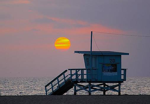 Venice Beach Sunset by Kevin Itsaboutvision