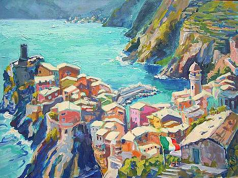 Vernazza Italy by Margaret  Plumb
