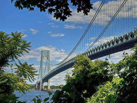 Verrazano Narrows Bridge by Wayne Gill