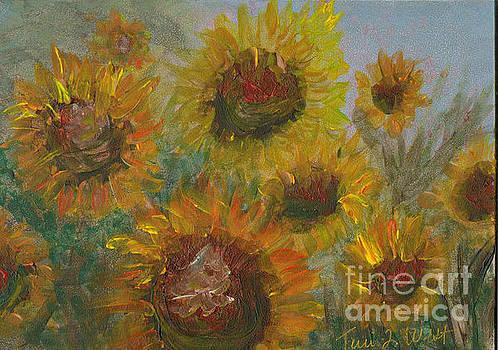 Vesper Sunflowers II by Terri West