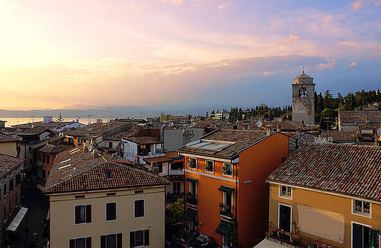 View of Sirmione with Lake Garda by Kiril Stanchev