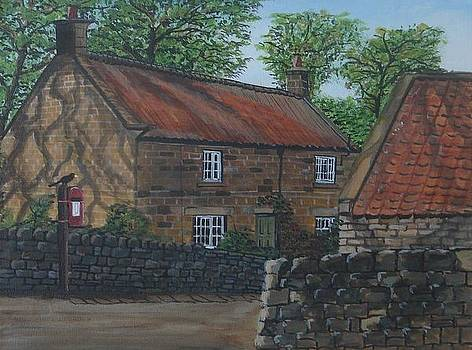 Village life by Harold Hopkinson