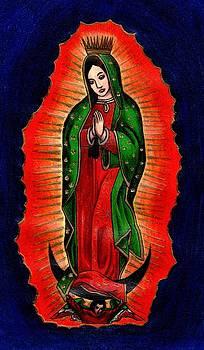 Virgen de Guadalupe by Elaan Yefchak
