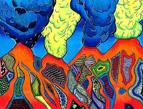 Volcanopolis 2 by Sam Bernal