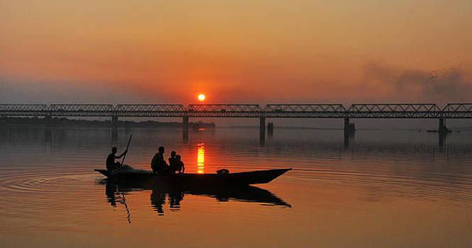 Voyage-V by Samsul Huda Patgiri