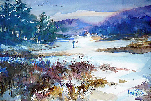 Walking Home with My Dog by Diane Bell