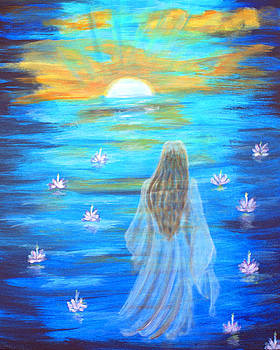 Walking Into The LIght by The Art With A Heart By Charlotte Phillips