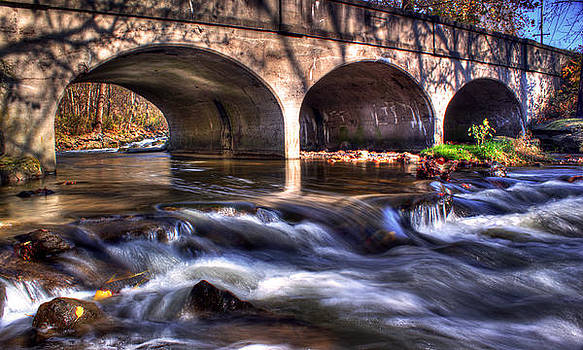 Water under bridge by Tim Buisman