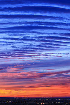 Waves Of Sunrise by Bruce Hamel