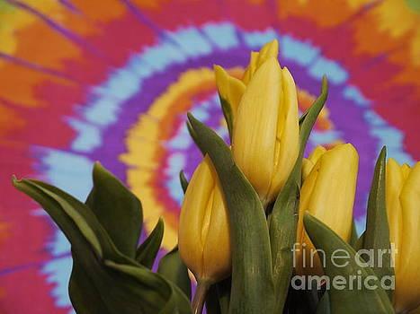 Wavy Tulips by Nancie DeMellia