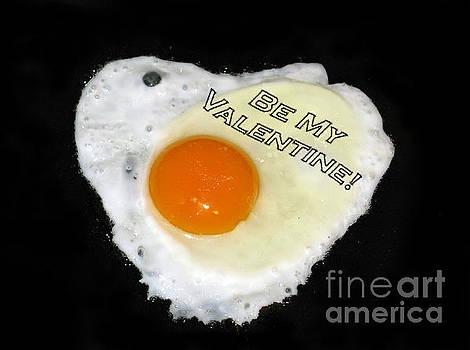 We Are Like Egg And Pepper. Be My Valentine by Ausra Huntington nee Paulauskaite