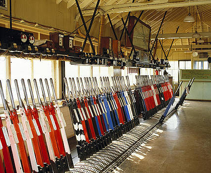 Westbury signal box Wiltshire 1980s by David Davies
